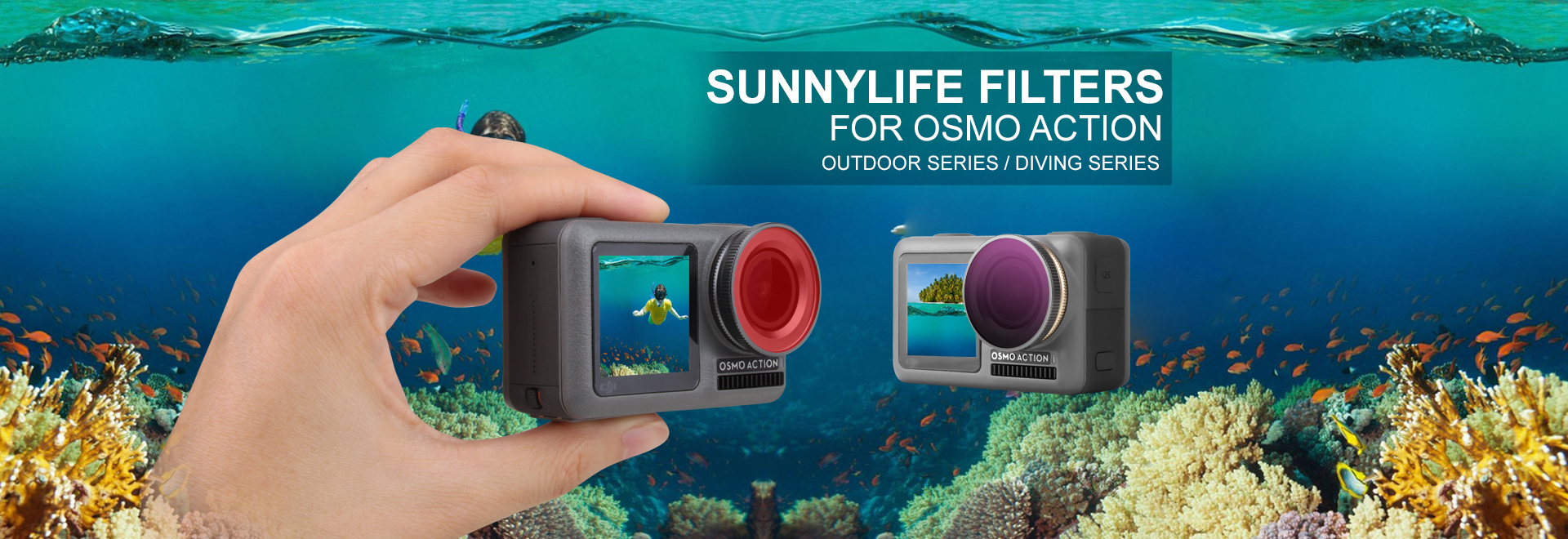 Lens Filter Series for OSMO ACTION
