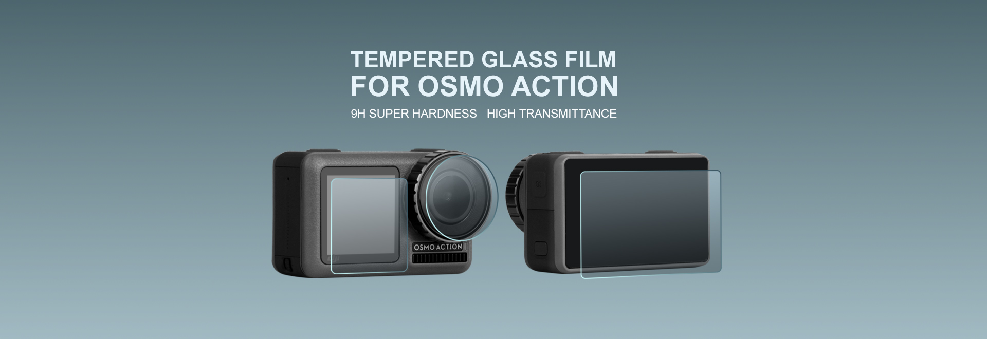 Tempered Glass Film for OSMO ACTION