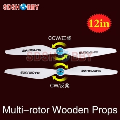 Sunnylife 12x4in Multi-rotor Propellers / 12*4in CW CCW Propellers 1240-One Pair