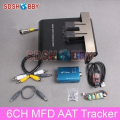 MyFlyDream 6CH MFD Automatic Antenna Tracker AAT Tracker V5.0 Combo Including AAT Driver USB-TTL HUB Without TFP OSD Module