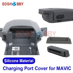 Drone Battery Charging Port Protector Silicone Cover Cap Dust-proof Plug for DJI MAVIC PRO