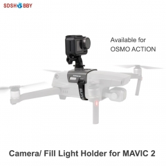 Sunnylife Camera Fill Light Holder Bracket Mount Expansion Kit for DJI MAVIC 2 Drone OSMO POCKET/ Action GOPRO Insta360