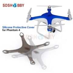 Silicone Protective Cover Fuselage Protection Cover Thickened Dust-proof Case for DJI Phantom 4 Drone Body