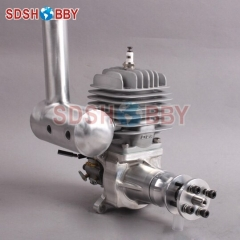DLA58 CNC Processed Gasoline Engine/Petrol Engine 58CC for Gasoline Airplanes with Walbro Carburetor