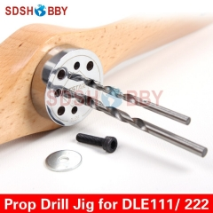 6STARHOBBY Propeller Drill Jig/ Drill Guide with Screw for DLE85 DLE111 DLE120 DLE222 DLA112 DLA116 DA85 EME120 Gas Engines