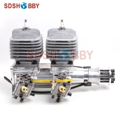 DLA116-INLINE CNC Processed Inline Gasoline Engine/Petrol Engine 116CC for Gas Airplanes with Double Cylinders
