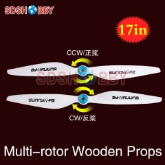 Sunnylife 17x5.8in Multi-rotor Propellers / 17*5.8in CW CCW Propellers 1758-One Pair