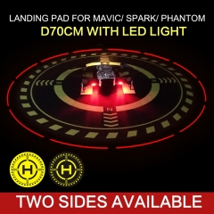 Portable Landing Pad D70cm Helipad Foldable Landing Field for AIR 2S/DJI FPV/MINI/AIR/MAVIC PRO/SPARK/PHANTOM 4/PRO V2.0