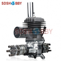 DLA56 CNC Processed Gasoline Engine/Petrol Engine 56CC for Gas Airplanes with Walbro Carburetor and NSK Bearing
