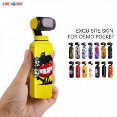 Sunnylife Protective Film 3M Stickers Decals Skin for DJI OSMO Pocket Handheld Gimbal Camera Accessory