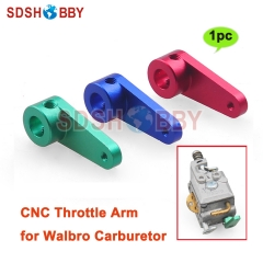 CNC Throttle Arm for Walbro Carburetor Gas Engine Accessory
