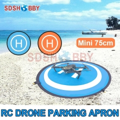 Mini Fast-fold Landing Pad D75cm Parking Apron for Mavic AIR 2/ MINI/SPARK/ Pro/ Phantom 3/4 PRO + V2.0/ Inspire 1 MAVIC Air