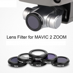 Sunnylife Camera Lens Filter MCUV CPL ND4 ND8 ND16 ND32 Filter for DJI MAVIC 2 ZOOM Drone