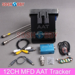 MyFlyDream 12CH MFD Automatic Antenna Tracker AAT Tracker V5.0 Combo Including AAT Driver USB-TTL HUB