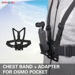Sunnylife Chest Band Strap Belt Adapter Accessories for DJI OSMO POCKET and GOPRO Camera