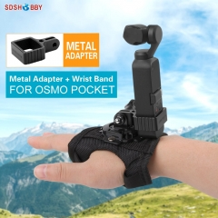 Sunnylife Wrist Band Belt Adapter Hand Strap Mount for POCKET 2/OSMO POCKET/GOPRO