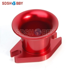 6STARHOBBY CNC Aluminum Alloy Air Horn Inlet for DLE30/ DLE50/ DLE55/ Zenoah G80 and CRRC Gas Engine