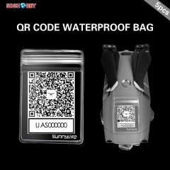 Sunnylife QR Code Phone Number Sticker Waterproof Protective Bag for MINI 2 MAVIC 2 Phantom 3 4 SPARK XIAOMI Q500 H480 Parrot Drone