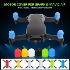 Sunnylife 4pcs/set Silicone Motor Cover Protector Protective Motor Guard Cap for DJI SPARK MAVIC AIR