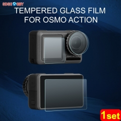 Sunnylife Lens Screen Protective Film Tempered Glass Film for DJI OSMO Action Sport Camera