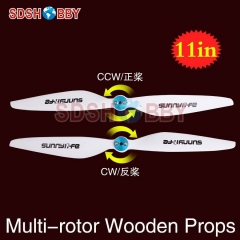 Sunnylife 11x3.7in Multi-rotor Propellers / 11*3.7in CW CCW Propellers 1137-One Pair