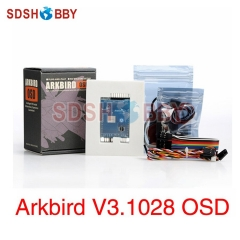 Arkbird Autopilot V3.1028 RTH OSD Flight Controller Standard Including GPS 3S Current Sensor for Fixed-wing