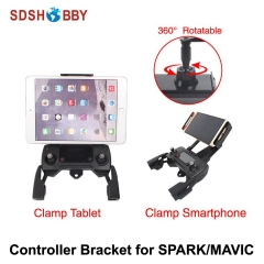 Remote Controller Clamp Smartphone Tablet Support Scalable Holder for DJI MAVIC MINI SPARK PRO MAVIC AIR