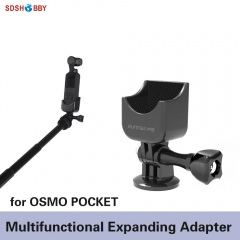 Sunnylife 1/4 Adapter Multifunctional Expanding Switch Connection Rotatable Adaptor for OSMO POCKET