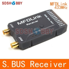 MyFlyDream RLink MFDLink 433MHz S.BUS RSSI 8CH 50KM Remote Control Extended Range Long Range UHF RX Receiver