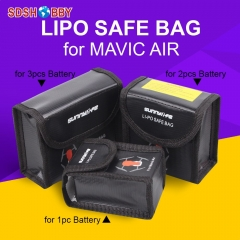 Sunnylife Battery Protective Storage Bag LiPo Safe Bag Explosion-proof for DJI MAVIC AIR