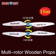 Sunnylife 15x5in Multi-rotor Propellers / 15*5in CW CCW Propellers 1550-One Pair