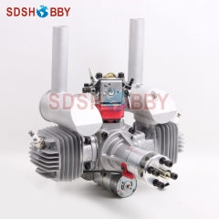 EME70 70CC RC Gasoline Engine Petrol Engine with Electric Starter Walbro Carburetor