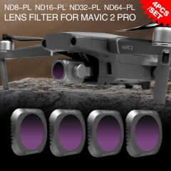 Sunnylife ND8-PL + ND16-PL + ND32-PL + ND64-PL Filter Combo for DJI MAVIC 2 PRO Drone