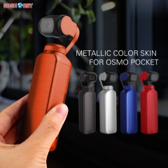 Sunnylife Protective Film Metallic Color Stickers Decals Skin for DJI OSMO Pocket Handheld Gimbal Camera Accessory