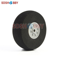 Sponge Wheel (D60 x H24 xD4.1mm) for Main Wheel of 40-60 Grade Nitro Airplanes