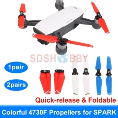 4730F Propellers Quick-release Foldable Colorful Props for DJI SPARK
