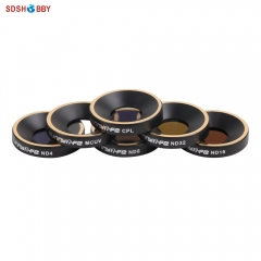 Sunnylife Camera Lens Filter MCUV CPL ND4 ND8 ND16 ND32 Filter for Parrot Anafi Drone