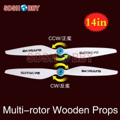 Sunnylife 14x4.5in Multi-rotor Propellers / 14*4.5in CW CCW Propellers 1445-One Pair