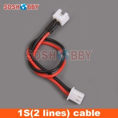 1S 15cm LiPo Battery Extension Line/Wire/Connector with Balance Charger Plug/22AWG Line *1pcs