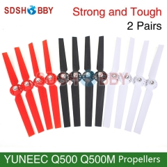 2Pairs Nylon Propellers Propeller for YUNEEC Q500 Q500M Typhoon Series Quadcopter