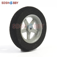 D36 x H8mm Sponge Wheel for RC Airplane