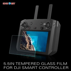 Sunnylife 5.5in Tempered Glass Film Screen Protective Film for DJI Smart Controller Mavic 2/T20 Crop Protection Drone Drone