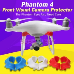 Front Visual System Camera Cover Eyes Protector Dustproof Dampproof Moistureproof Cap for DJI Phantom 4