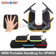 Mini Storage Bag Portable Handheld Aircraft Battery Remote Controller Bag for DJI Drone Spark