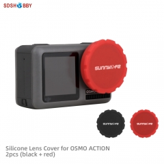 Sunnylife Silicone Protective Cover Lens Case for DJI OSMO ACTION Sport Camera