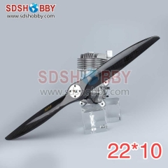 Two Blades Carbon Fiber Propellers 22*10 22x10 (MEJZLIK Type) for RC Gasoline Airplanes