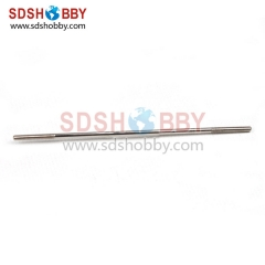 M2*d1.6*100mm Metal Push Rod (5pcs/bag) RC Airplane Parts