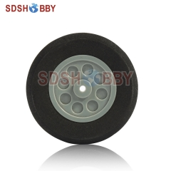 D45 X H15 X Φ3mm RC Airplane Sponge Wheel For Main Wheel Of 25 Grade Electric Airplanes