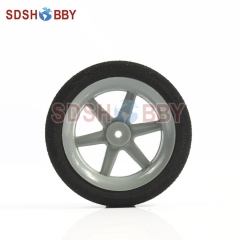 Super Light RC Airplane Sponge Wheel Φ50 X H13 XΦ3.1mm