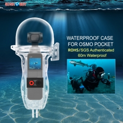 Sunnylife 60 Meters Waterproof Protective Housing Case Diving Shell for DJI OSMO POCKET Gimbal Camera